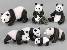 Plastic Simulation Forest Wild Panda Animals Mini Figure Model Kids Gift Toys XS