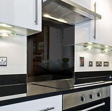Splashback Paraschizzi Paraspruzzi Rivestimento Cucina colore tinta unita nero
