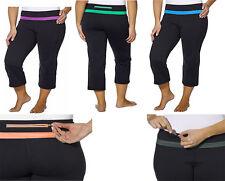 Kirkland Signature Women's Activewear Yoga Pants for Women Capri Workout Pant
