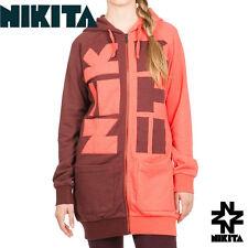 Nikita Expression Women Ski Snowboard Full Zip Hoodie Long Fit NWT $90 £70 €90