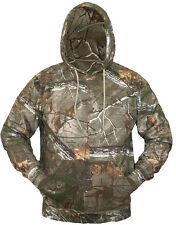 Caballeros Árbol De Roble Real Camo con capucha cálido interior de algodón cepillado Top para Hombre con Capucha de caza