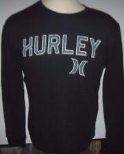 New Hurley black gray thermal long sleeve warm shirt Small or Medium