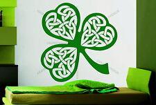 Irish Shamrock St.Patrick's Decorative Vinyl Wall Sticker Decal Window Bedroom