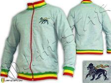 Giacca stile militare con tasche applicate Plain indietro Reggae Rasta Roots Colore Sabbia