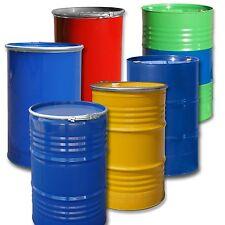 Stahlfass 213 / 216 Liter Blechfass Spundfass Ölfass Deckelfass Metallfass NEU