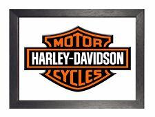 HARLEY DAVIDSON 9 MOTO BICI AMERICAN POSTER HD ROUTE 66 Company LOGO FOTO