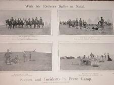 1900 BOER WAR REDVERS BULLER BODYGUARD FRERE CAMP