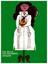 Mas bella con guayabera film Decoration Poster.Graphic Art Interior design 3383
