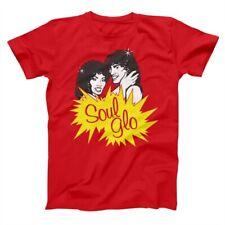 Soul Glo Soul Glow  Randy Watson Coming To America Red Basic Men's T-Shirt