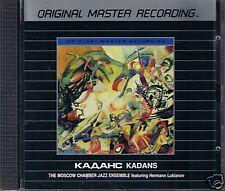 Moscow Chamber Jazz Ensemble Kadans MFSL silver CD rar