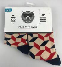 Women's Pair Of Thieves Socks Mom + Kid Set Kid's Small Medium Women's 6-10 NEW