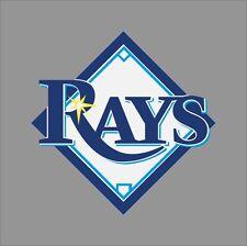 Tampa Bay Rays MLB Team Logo Vinyl Decal Sticker Car Window Wall Cornhole