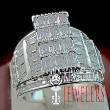 WOMENS LADIES PRINCESS CUT REAL LAB DIAMOND ENGAGEMENT BRIDAL WEDDING RING BAND