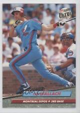 1992 Fleer Ultra #226 Tim Wallach Montreal Expos Baseball Card