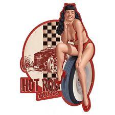 Sticker # Pin Up HOT ROD Bettie #