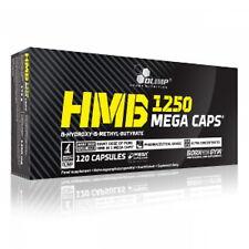 (12,41€/100g) Olimp HMB Mega Caps 120 Kapseln 174g,Muskelaufbau Definition+Bonus