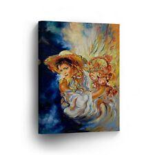 Modern Oil Painting on Canvas Print Wall Decor Art Framed %100 Handmade OPV2