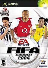 FIFA Soccer 2004 (Microsoft Xbox, 2003) No Manuel