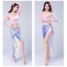Belly Dancer Dancing Sequin Hip Belt Scarf Skirt Wrap Beach Shining Wrap Skirt