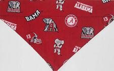 Dog Bandana Alabama Crimson Tide Red over the collar Cotton XS- XLL