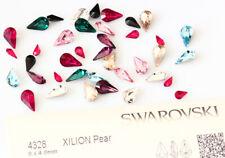 Genuine SWAROVSKI 4328 XILION Pear Fancy Stone Rhinestone Crystals * Many Colors
