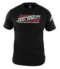 "adidas T-Shirt Jiu-Jitsu ""Flash"" black/white, adiBJJTS02 - Ju-Jutsu-Shirt - BJJ"