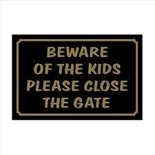 Cuidado de niños de 160 mm x 105 mm muestra Plástica / pegatina casa, jardín, Mascotas