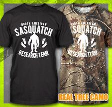 Sasquatch Research Team Funny Findi 00004000 Ng Big Foot Squatching Bigfoot T-Shirt Tee