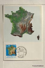 yt 2662  FRANCE  Carte Postale Maximum IGN