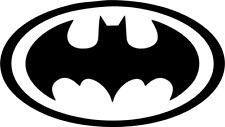 BATMAN LOGO VINYL DECAL STICKER CAR/VAN/WALL/LAPTOP/TABLET/WINDOW 6 COLOURS #3
