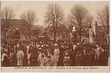 CPA -69-  CHALON-sur-SAÖNE- Carnaval-1926-Ensemble de la cavalcade pl. Thevenin.