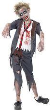 MOSTRO ZOMBIE SPAVENTOSO SCUOLA Boy Kids bambino Halloween Costume 7-14