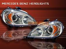98-01 MERCEDES BENZ W163 ML-320/430/55 PROJECTOR HEADLIGHTS CHROME