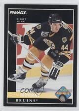 1992-93 Pinnacle #224 Glen Murray Boston Bruins Hartford Whalers Hockey Card