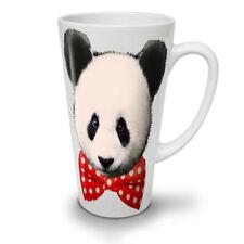 Panda Cute Bowtie Funny NEW White Tea Coffee Latte Mug 12 17 oz | Wellcoda