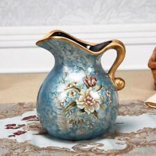 Home Room Decorative Vase Modern Classic Elegant Tabletop Flower Print Decor New