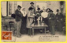 cpa Ed. CHÂTEAUROUX MARIAGE dans le BERRY Passage de l' anneau MARIAGE NOCE