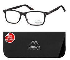 Montana MR72 schwarz matt  Lesebrille Lesehilfe TOP MODERN  +1,0 bis +3,5