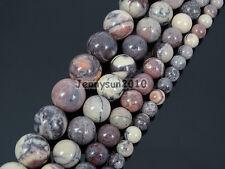 Natural Porcelain Jasper Gemstone Round Spacer Beads 15.5'' 6mm 8mm 10mm 12mm