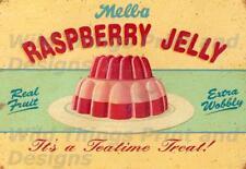 Style Vintage Rétro Plaque Métal; Framboise gelée, une heure du thé Traiter! AD/SIGNE