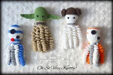 "NICU Handmade Amigurumi Preemie-Buddy Preemie-comfort 7"" octopus, Baby Star Wars"