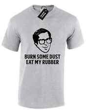 Bruciare qualche polvere mangiare il mio Gomma Da Uomo T Shirt Divertente lampoons Design scherzo commedia