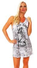Religion Ladies Dress Short Sleeve Shirt Top Live Fast - b124ltd51