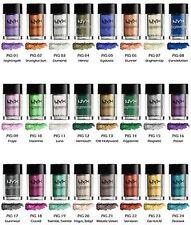 NYX Foil Play Pigment Creamy Eye-Shadows, NYX Professional Makeup