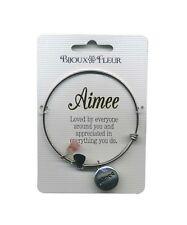 Bijoux Fleur Bangles - Bracelets - Names and Initial Letters - A-J