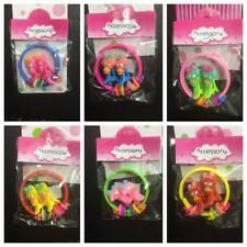 Baby Kids girls Hair Accessories doll Clips Snaps Alligator Slides+ bracelet Set