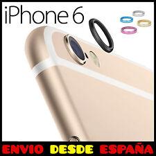 """PROTECTOR ARO DE METAL PARA LA CAMARA DEL IPHONE 6 6S (4,7"""") FUNDA LENTE ANILLO"""