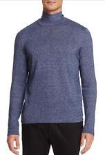Zachary Prell Men's Blue Hess Turtleneck Pullover Sweater $158