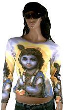 KRISHNA Inkarnation Avatar Hindu Götter Star T-SHIRT S
