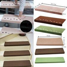 1/2/4pc Luminous Skid Resistant Step Mats Stair Step Staircase Carpet 55x22cm